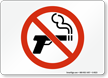 No Smoking, (Smoking Gun)