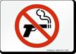 No Smoking, (Smoking Gun)