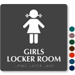 Girls Locker Room Sign