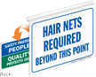 Hair Nets Required Sign