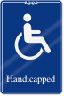 Handicapped ADA Sign