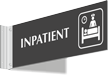Inpatient Corridor Projecting Sign