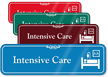 Intensive Care Hospital Showcase Sign