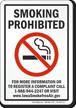 Iowa Smoking Prohibited Sign