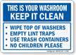 Keep It Clean Sign