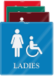 Ladies Handicap ShowCase Wall Sign