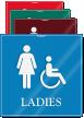 Ladies Handicap ShowCase Wall Sign