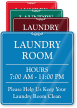 Help Us Keep Laundry Room Clean Wall Sign