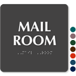 Mail Room ADA TactileTouch™ Sign with Braille