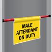 Door Barricade Sign
