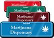 Marijuana Dispensary Hospital Showcase Sign