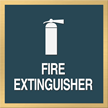 Marquis Fire Extinguisher Sign, 6