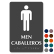 Bilingual Tactile Touch Braille Sign for Men