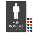 Tactile Touch Braille Bilingual Sign for Men