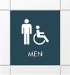 Male & Handicap Accessible Symbols