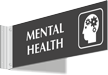 Mental Health Corridor Projecting Sign