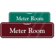 Meter Room Sign