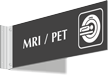 MRI PET Corridor Projecting Sign