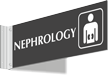Nephrology Corridor Projecting Sign