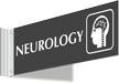 Neurology Corridor Projecting Sign