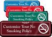 ShowCase™ Custom Smoking Sign