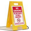 FloorBoss XL™ Standing Floor Sign