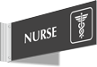 Nurse Above Door Corridor Sign