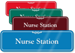 Nurse Station Showcase Hospital Sign