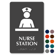 Nurse Station Braille Sign