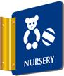 Nursery 2 Sided Sign