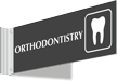 Orthodontistry Corridor Projecting Sign