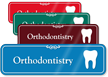 Orthodontistry Hospital Showcase Sign