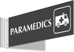 Paramedics Corridor Projecting Sign