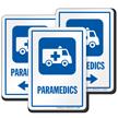 Paramedics EMS Hospital Sign