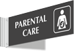 Parental Care Corridor Projecting Sign