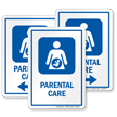 Parental Care Hospital Sign