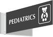 Pediatrics Corridor Projecting Sign