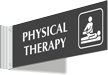 Physical Therapy Corridor Projecting Sign