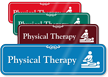 Physical Therapy Physiotherapist Showcase Hospital Sign