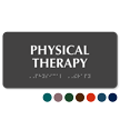 Physical Therapy Tactile Touch Braille Sign
