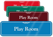 Play Room Showcase Hospital Sign
