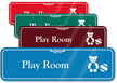 Play Room Hospital Showcase Sign