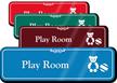 Play Room Hospital Showcase Sign