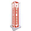 Fire Hose (Arrow) Sign