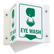 Eye Wash Projecting Sign