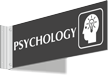 Psychology Corridor Projecting Sign