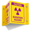 Caution Radiation Hazard Sign