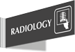 Radiology Corridor Projecting Sign