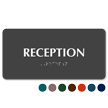 Reception TactileTouch Braille Sign