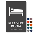 Recovery Room TactileTouch Braille Hospital Sign